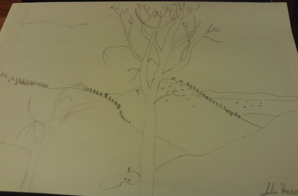 Drawing The View of Hesperia