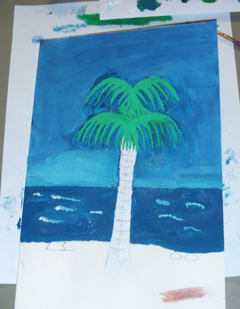 Painting The Fronds