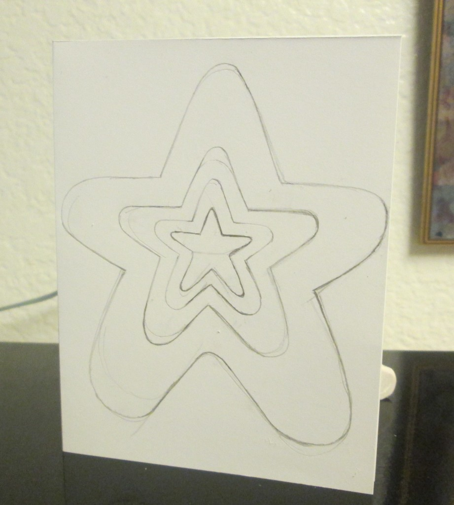 The fourth star was added to the pattern.
